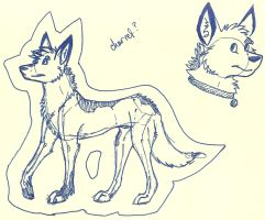 Character idea one by Silversnow-wolf