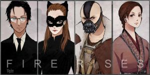 TDKR baddies by MachoMachi
