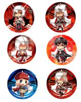 Assasin's Creed Buttons by WXYZell