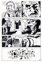 dr death vs zombie page by kaviart