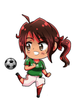 Soccer Player Mexico ! by vanesserzz