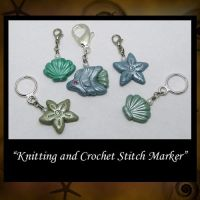 Knitting Crochet Stitchmarkers by KabiDesigns