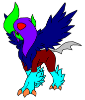 Shiny Me When I become a Mega Absol by MincraftMegaAbsray