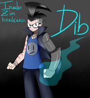 InvaderZim headcanon Dib pic by ReneesDetermination