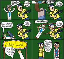 Kiddy Land Comic by animaniac43