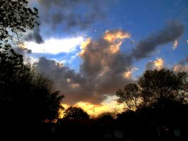 Sunset Clouds by Geistson