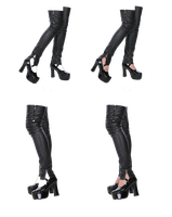 PaperDoll Leggins And Shoes by mysticmorning