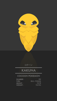 Kakuna by WEAPONIX