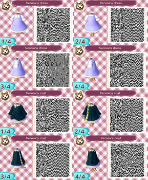 Chameleon Charm: New Leaf Veronica Patterns by forte-girl7