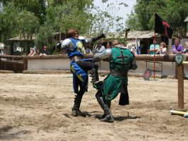 More Knight Joust Stock 022 by tursiart