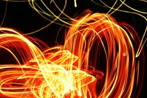 Flames in Motion 4 by PhotonicBohemian