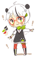 Shota Megane Panda Auction [C] by mieille