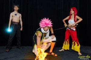 Fairy Tail at A-Kon 2012 by firecloak