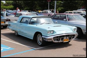 1960 Ford Thunderbird by compaan-art