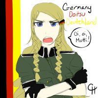 I AM GERMANY by Chocolat-Hime