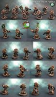 Pre Heresy Death Guard Tactical Squad Faestus by HomeOfCadaver