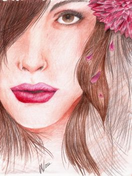 Colorpencil/First attempt by Hellvede