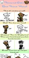 BFF double meme with MilleniumDream by Fancyfeline
