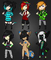 Adopt set (1/6 open) by MuteAdopts