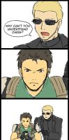 Resident Evil 5 Comic 1 by Kairi-Moon