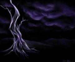 The Dead Tree by spiritwolf77