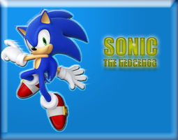 Sonic The Hedgehog by ReverseNegative