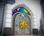 Hall of Elements Door For Argodaemon by GunGryphon