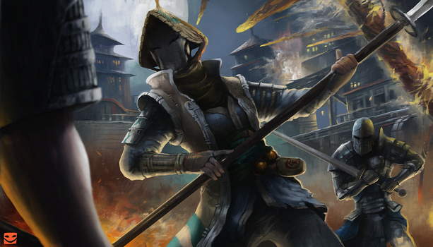 Nobushi - For Honor fan-art by bmad95
