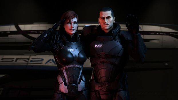 N7 Day 2016: Shepard Signing Off by Turpuli