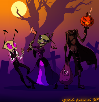 Aren't You A Little Old To Be Trick Or Treating by Keeiran