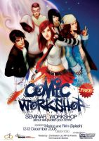 SELF PUBLISH YOUR COMIC by mproductions