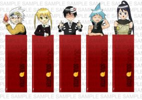 Soul Eater Bkmk Collection by ome-okane