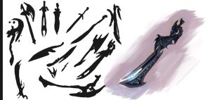 Sword Concepts by Aleana