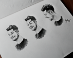 BASTILLE DAN facial expressions by mrsxbenzedrine