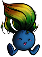 Oddish with lines by Miniatureowl