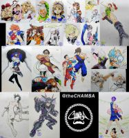 MEFCC 2017 - Artwork Compilation by theCHAMBA