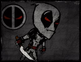 Deadpool Jr. by PsychosisEvermore