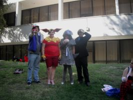 Pokemon Group Cosplay by wolfforce58