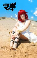 Magi cosplay: Morgiana by Sparkly-Monster