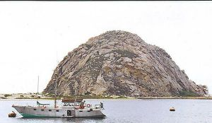 Morro Rock by Kymography