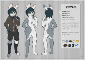 Romeo Reference Sheet - Commission by Kium