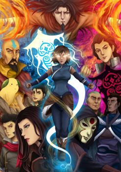 The Legend Of Korra by gin-1994