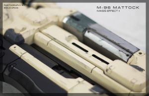 Mass Effect II M96 Mattock detail by zanderwitaz