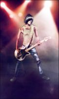 Dee Dee Ramone by FAB-dark