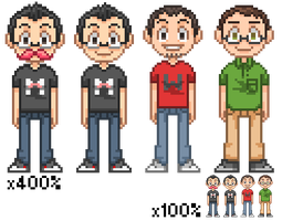 Markiplier 'N' Friends by Silliot