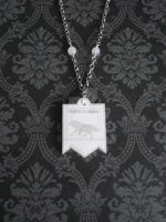 GOT House Stark Necklace by AriesNamarie