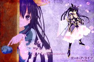 Yatogami Tohka - Date a Live Wallpaper by AdaAlberto