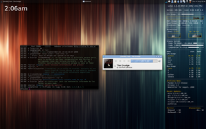 Arch Linux Openbox 08-2008 by JoePhantom