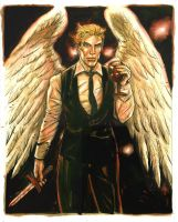 Lucifer Red by funrama