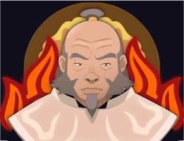 Iroh White Lotus Vector by Earking